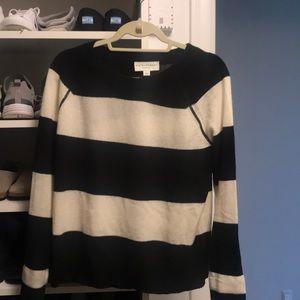 White and warren small cashmere sweater